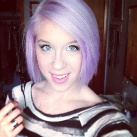 Med Length Pastel Purple Hair Hair Pinterest Pastel