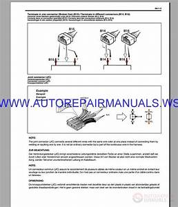 Suziki Rb310-rb4130 Wagonr Schematic Service  U0026 Shop Manual