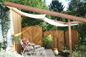 sonnensegel 420x140 cm sonnenschutz in seilspanntechnik With französischer balkon mit grosser sonnenschirm