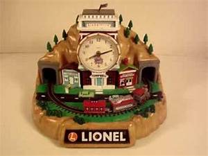 Image Gallery lionel train clock