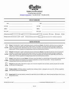 wedding contract for wedding planner google search With wedding photo contract
