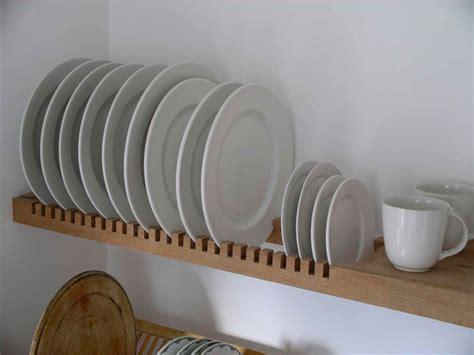 wall mounted kitchen plate drying rack decoracao cozinha espaco de armazenamento da cozinha
