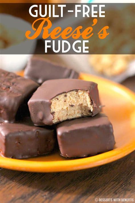 Healthy Reese's Fudge Recipe | High Protein, Low Sugar