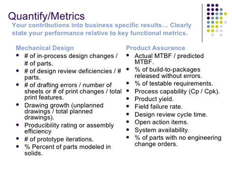Quantify Results Resume by Increase Your Resume Cv Value Through Performance Metrics