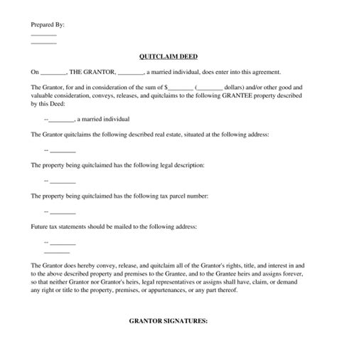 Notarial and authentication services are one of the oldest traditional u.s. Quitclaim Deed - Template, Online Sample - Word and PDF