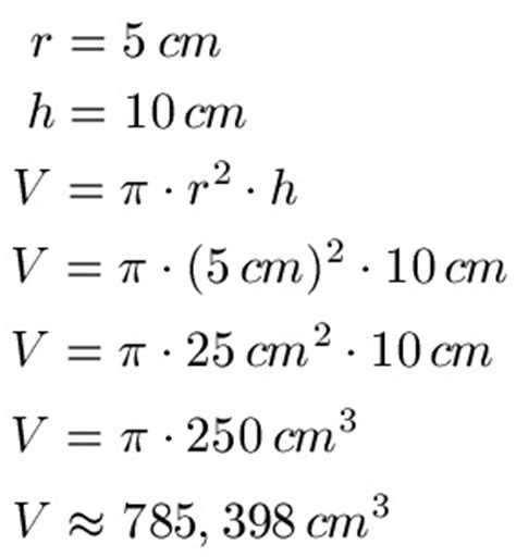 geometrie volumen und oberflaeche von quader zylinder und