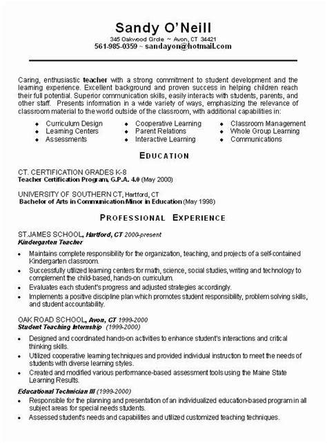 teacher resume templates inspirational teachers