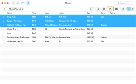 how to transfer songs from iphone to itunes transfer non purchased from iphone to itunes