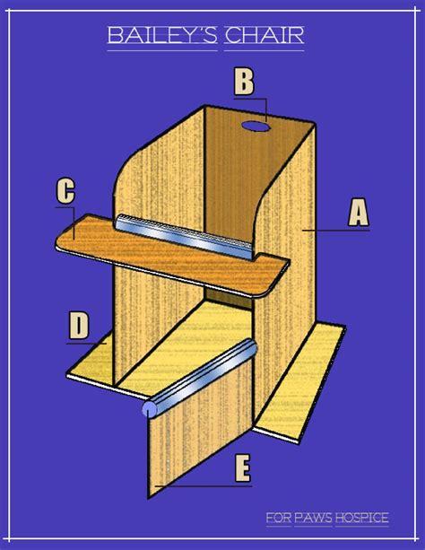 bailey chair megaesophagus construct a bailey s chair by for paws hospice issuu