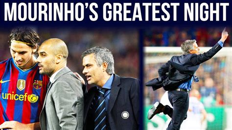 The Night Mourinho Calls his 'BEST MOMENT EVER ...