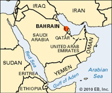 Bahrain: location - Students | Britannica Kids | Homework Help
