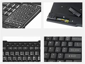 2 4ghz Thin Touchpad Wireless Keyboard  Rfkb