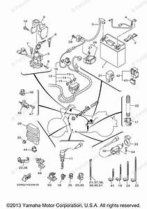Yamaha Motorcycle 2009 Oem Parts Diagram For Electrical