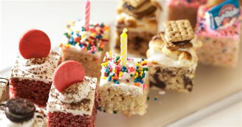 gourmet rice krispie treats news gourmet rice krispies treats a 384 000 burger a 45 page water menu and more the