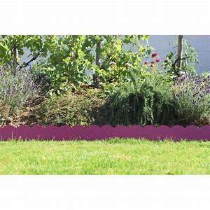 Bordure De Jardin Metal : votre bordure de jardin en acier fushia ondul e chez ~ Dailycaller-alerts.com Idées de Décoration