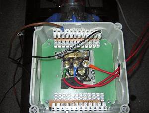 Laboratory View Of  A  Modified Terminal Box  B  Induction Motor With