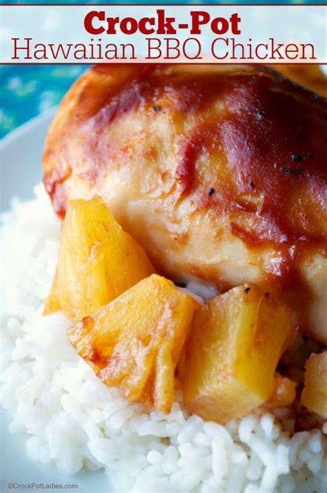 Most crock pots have three settings, low, high, and warm. Crock-Pot Hawaiian BBQ Chicken Recipe! | Recipe | Bbq chicken recipes, Low cholesterol recipes ...