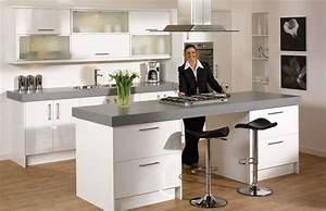 Elegant And Clean High Gloss Kitchen Designs - My Kitchen