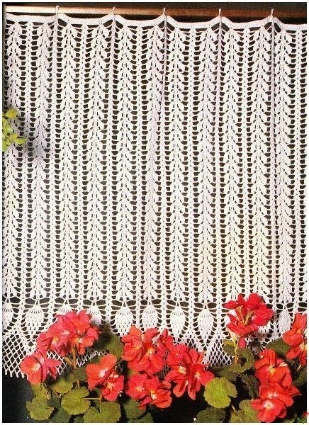 17 Best images about Crochet curtain on Pinterest   Free