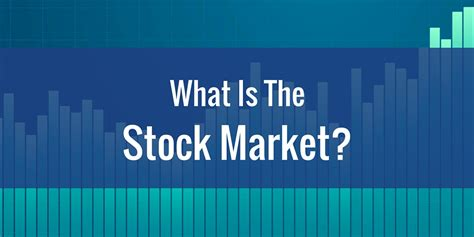 What Is The Stock Market?  Stock Market School