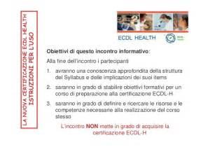 Dispensa Ecdl by Ecdl Health Dispensa