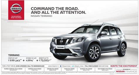 car ads nissan terrano car advertisement advert gallery