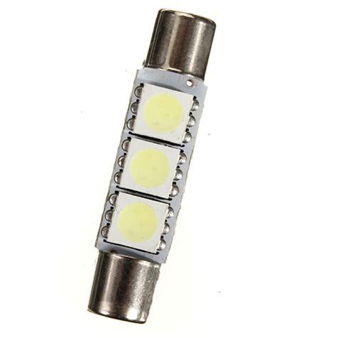 buy 31mm 3 smd 5050 led light bulb car vanity mirror