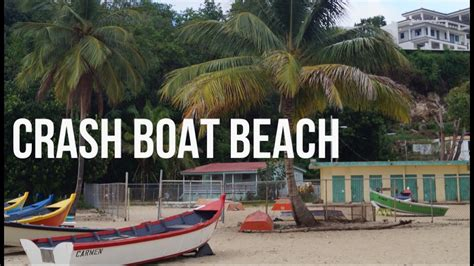 Crash Boat After Maria by Crash Boat Beach Aguadilla Puerto Rico Youtube