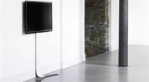 Meuble Tv Accroché Au Mur : support mural tv ~ Melissatoandfro.com Idées de Décoration