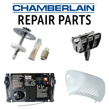 chamberlain garage door opener repair parts residential garage door opener parts
