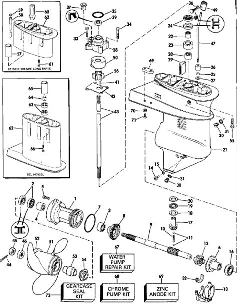 similiar 2 5 hp yamaha lower unit diagram keywords pump besides 25 hp evinrude lower unit diagrams also mercury 90 hp