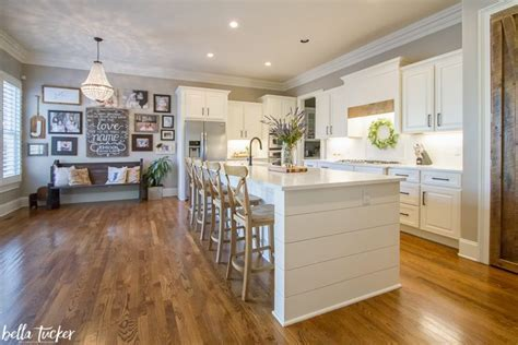 Shiplap Island and Natural Wood Accents  Kitchen Before