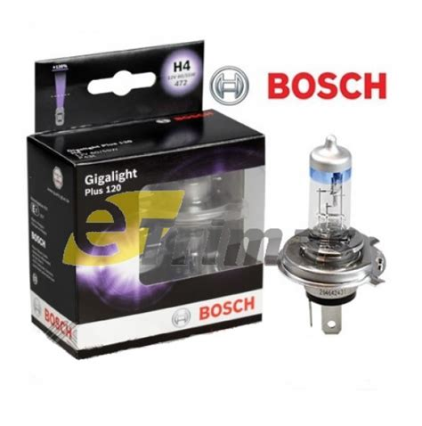 bosch plus 120 gigalight bosch gigalight plus 120 car headlight l halogen bulb h1 h4 h7 osram philips bosch germany