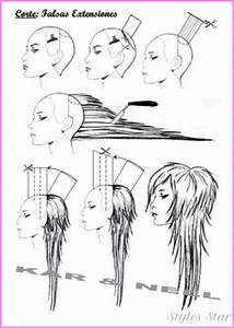 How To Cut Short Hair Diagram