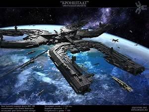 Orbital fortress by ~SmirnovArtem on deviantART | Scifi ...
