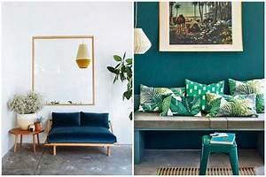 Tapis Salon Bleu Canard : osez une d co couleur bleu canard dans votre int rieur ~ Melissatoandfro.com Idées de Décoration