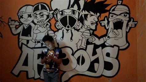 Grafiti Kamar : Grafiti Keren Part #3, Mudal Cat Hitam Putih Jadi Kamar