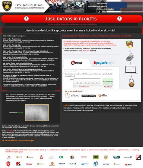 Remove 'Jūsu Dators ir Bloķēts' Ransomware (Removal Guide)
