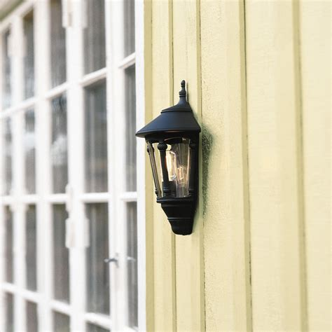 flush mounted exterior light with smoked glass