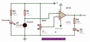 Infrared Sensor Interfacing With Arduino And Pic16f77a