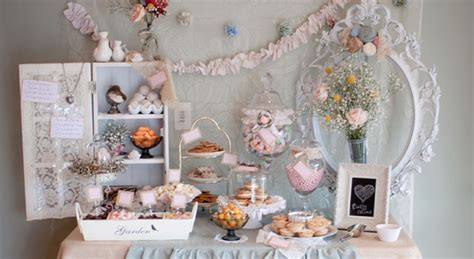 shabby chic buffet table vintage shabby chic dessert table gorgeous dessert buffet tables pinterest dessert table