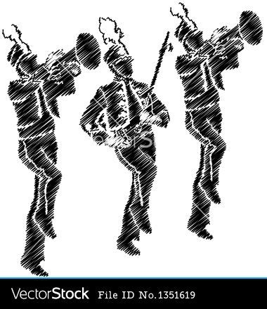 Marching Band Clipart Marching Band Silhouette Clipart Free Clip Images