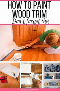 Painting Wood Trim Without Sanding  The Ultimate Tutorial