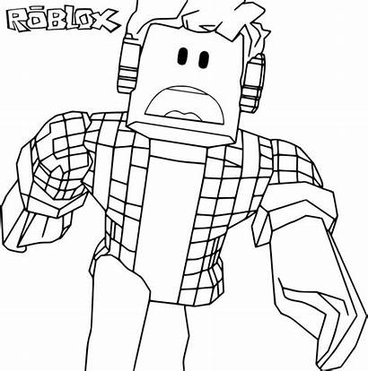 Roblox Coloring Pages Colouring Cartoon