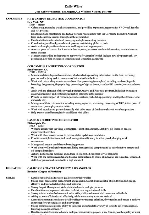 staffing resume sample