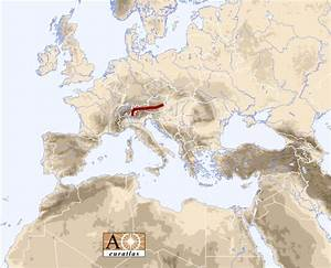 Europe Atlas: the Mountains of Europe and Mediterranean ...