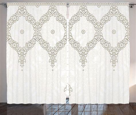 moroccan pattern curtain panels decorative ornate pattern moroccan theme far eastern print