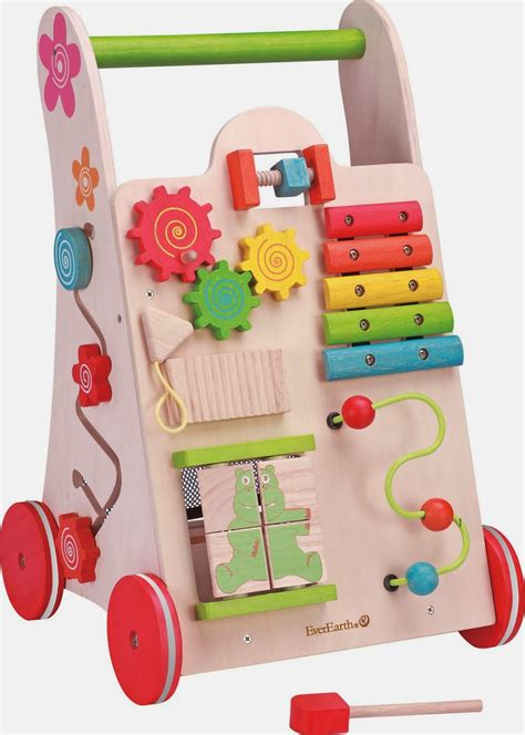 wooden activity toddlers toys walker everearth babies toy children play baby wood toddler musical center prices child activities around