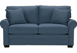 Sofa Twin Sleeper by Cindy Crawford Home Bellingham Indigo Sleeper Loveseat