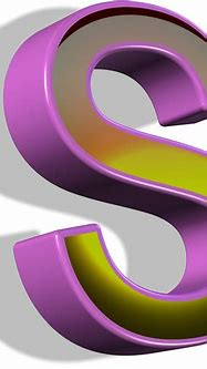 3d Letter S Free Stock Photo - Public Domain Pictures